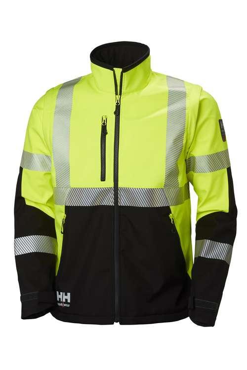Helly Hansen Workwear ICU SOFTSHELL TAKKI